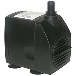 Fountain Tech FT450 500GPH Submersible Stream/Pond/Fountain Pump FT-450 -12 Ft Cord