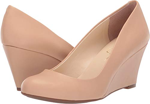 Jessica Simpson Women's Sampson - Exclusive Sand Dune 6 M US (Beige Wedge Shoes For Women)