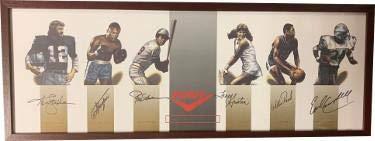 9fb935f47 Pony Collage signed 14x38 Framing w/Ken Stabler/Joe Frazier/Rod Carew/