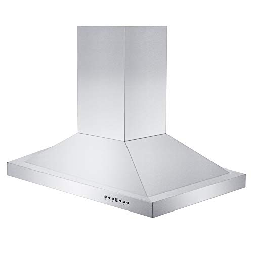 Z Line GL2i-RS-36 36 900 CFM Remote Blower Island Mount Range Hood in Stainless Steel