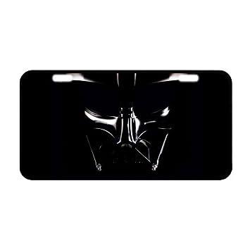 Captivating Darth Vader Customized Metal License Plate Frame