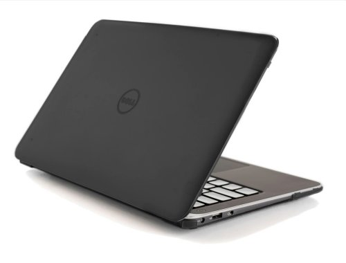 "Black iPearl mCover Hard Shell Case for 13.3"" Dell XPS 13 9343/9350 Model(Released After Jan. 2015"
