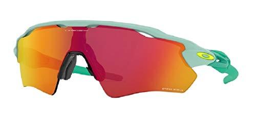 Oakley Radar EV Path OO9208 920877 38M Arctic Surf/Prizm Ruby Sunglasses For Men+BUNDLE with Oakley Accessory Leash Kit (Oakley Radar-rahmen)