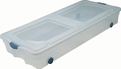 Gsc Ub2042 Under Bed Box With Wheels Clear Base Amazonin Home