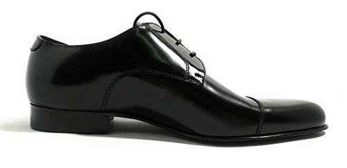 218 Scarpe Italy Art Cuoio Bryan Models Eleganti Vero Nero Made Abrasivato in Shoes Original pUq7qXn0