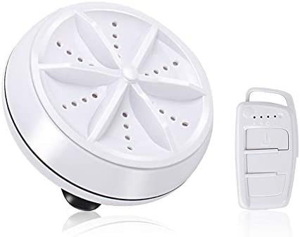 Mini lavadora, lavadora de ropa de la turbina del hogar, máquina ...