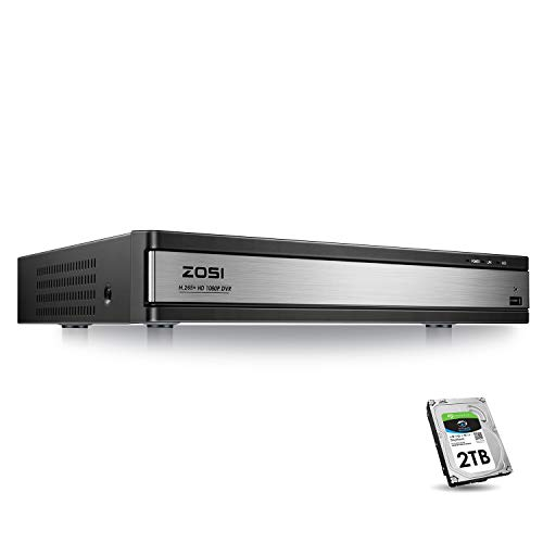 ZOSI Full 1080p HD 16 Channel Security DVR Recorder