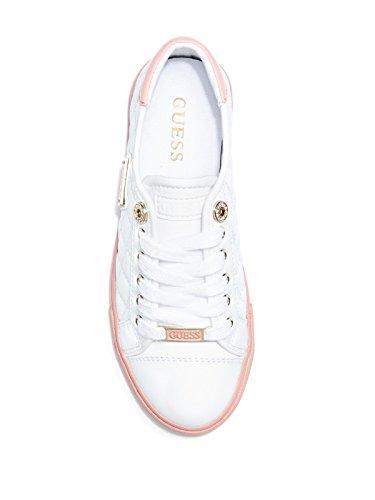 Denk Dat De Dames In De Fabriek Veel Gewatteerde Sneakers Wit Multi-leer Hebben