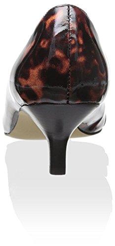 Donald J Pliner Mujer's Cap Toe Pump Negro-natural / Negro