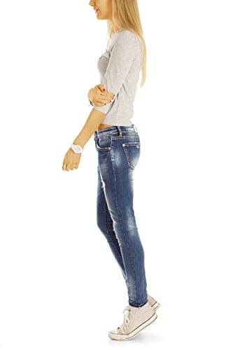 bestyledberlin Bleu Jeans Skinny Femme Us Sr6Sw
