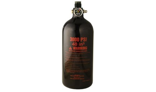 Air Guerrilla (Guerrilla Air 48ci Black 3000 PSI MYTH Paintball Tank)