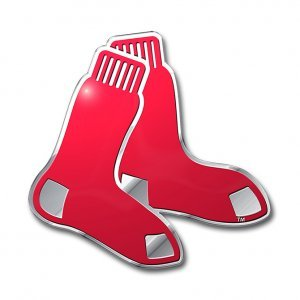 MLB Boston Red Sox Die Cut Color Automobile Emblem