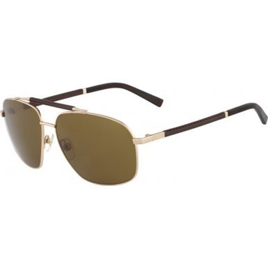 Michael Kors MKS915M-717 Mens MKS915M Craig Brown Gold (Michael Kors Leather Sunglasses)