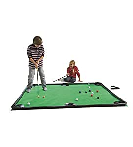 Amazon.com: Indoor Golf Pool Putting Game - Mini Golf Set for Kids and Families - Includes 2