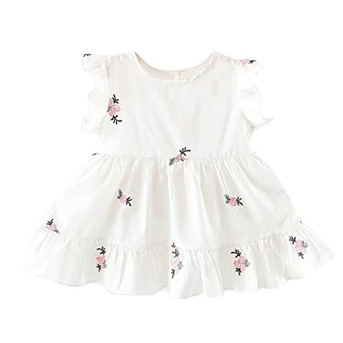 Girls Dresses Baby Newborn Toddler Kids Sleeveless for sale  Delivered anywhere in Canada