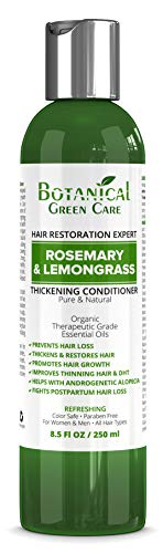 """Hair Growth Anti-Hair Loss CONDITIONER """"Rosemary & Lemongrass"""". Alopecia Prevention and DHT Blocker. Doctor Developed. NEW 2018 FORMULA!"""