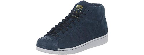 free shipping real adidas Men's Originals Pro Model Winterized Trainers in Navy outlet clearance jaije3