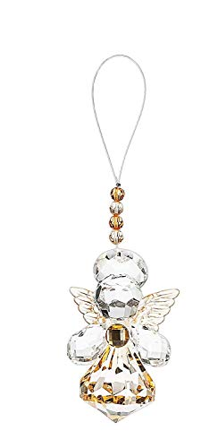 Crystal Expressions Angel Sentiment Collection 3 Inch Ornament (Guardian Angel) ()