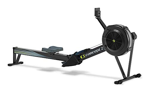 Concept2 Model D with PM5 Performance Monitor Indoor Rower Rowing Machine Black (Best Life Fitness Treadmill For Home Use)