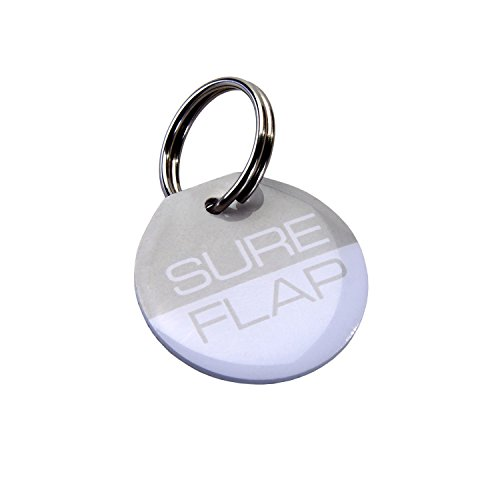SureFlap Microchip Collar Tags.2 OZ, Gray ()