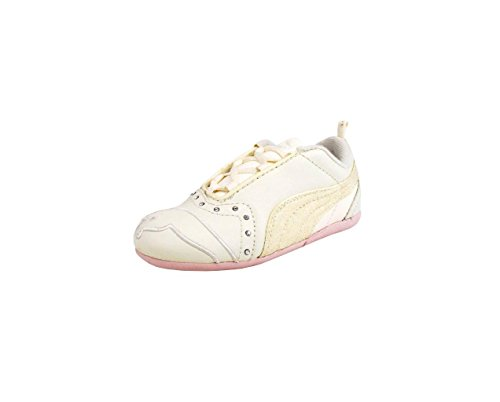 PUMA Infant/Toddler Sela Diamond II Sneaker,Whisper White/Pink,5 M US Toddler