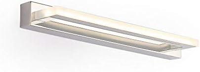 ECOBRT,acryl wandleuchte chrom finish,ecobrt moderne led spiegelleuchten wandleuchte spiegel vanity die lötstellen spart bis zu 4000k 220v 42cm,acryl wandleuchte chrom finish