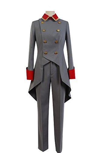 Cosplaybar Aldnoah.Zero Martian Knight Trillram Uniform Cosplay Costume Ladies M (Lady Knight Costume)