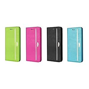 """TOPAA XUNDD Pomegranate Series Flip PU Hard Back Cover with Stand for iPhone 6 4.7""""(Assorted Colors) , Pink"""