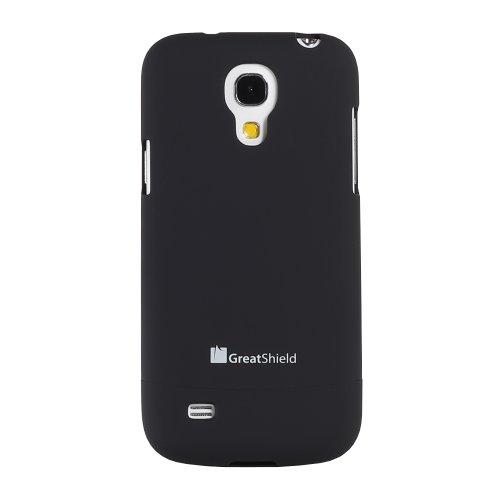 GreatShield GS03267 Funda Negro funda para teléfono móvil - Fundas para teléfonos móviles (Funda, Samsung, Galaxy S4, Negro) Negro