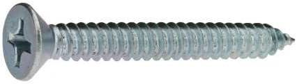 Reidl Senkkopf Blechschrauben 2,9 x 9 mm DIN 7982 Stahl galv verzinkt farblos 100 St/ück