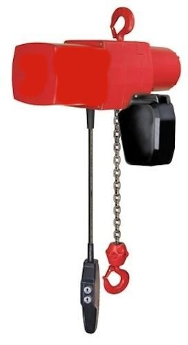 Coffing 08076W FLC1032 1 20 Little Mule Electric Chain Hoist with Chain Container