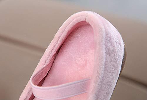 Xmas Girl Imjono Shoes Rose Warm Christmas Baby Happy Santa Sneakers Princess OSR0nR