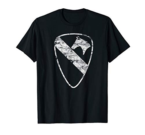 1st Cavalry Division Vintage Unit Insignia Tee