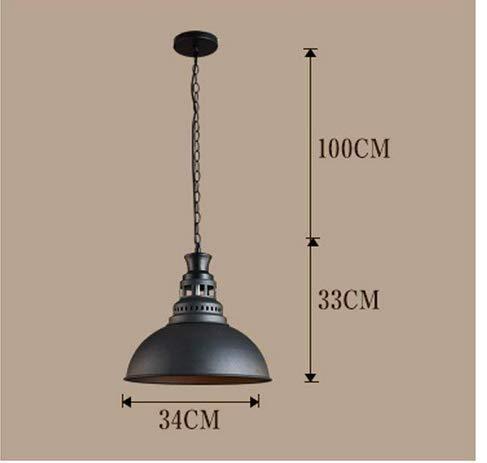 Amazon.com: Lámpara de viento industrial E27 con diseño ...