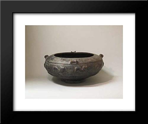 Etruscan Culture - 18x15 Framed Museum Art Print- Bowl ()