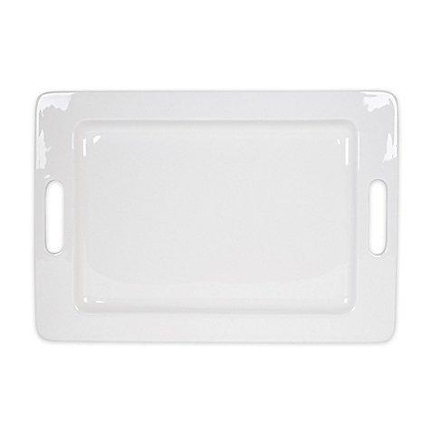 Rectangular Handled Platter 14-Inch