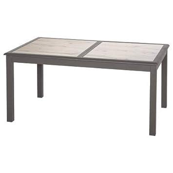 Hespéride Table Extensible Verre céram 10 p. Azua Tonka ...
