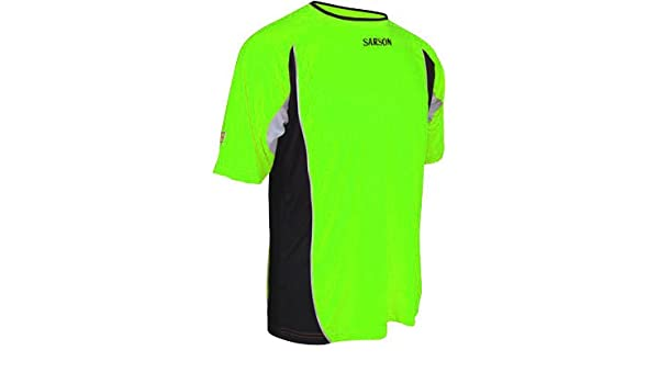 dbe02cd8280 Sarson Usa Adult Unisex Lusaka Soccer Goalie Jersey S/S Medium Neon  Green/Black/Grey Piping And Inserts: Amazon.ca: Clothing & Accessories