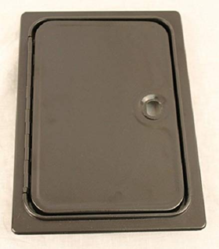 Arcade Game Cash Access Coin Door Blank, Jamma, Mame, Pinball Systems W/hardware