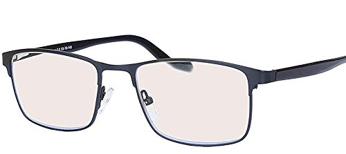 Splendenti Eyewear Reader Computer Glasses - 1.5-3.0 Strength - Blue Light, UV & Digital Eyestrain Protection - Unisex Model