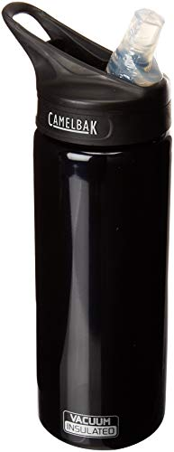 CamelBak 54155 Eddy Vacuum Insulated Stainless Raven Hod Camping Canteen, 20 oz, Black