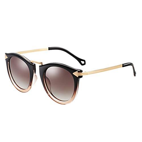 sunglasses Protection Polarisées Lunettes Rétro Femme Types Convient De Tac Verres Léger Les Pour Zhyxj B Soleil Tous À Visage 100 Uv400 fwq0x8nfd