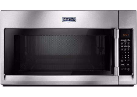 Maytag MMV5220FZ Over the Range 2.10 cu. ft Capacity Microwave (The Range Microwave Maytag Over)