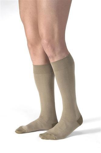 `Jobst for Men 20-30 Knee-Hi Khaki Medium by AmericanMedMart.com
