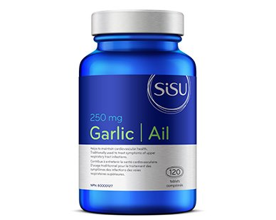 - Sisu Garlic 250mg, 120 enteric-coated tablets