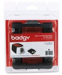 (Evolis Badgy200 Black Monochrome Ribbon - 500 Prints - CBGR0500K)