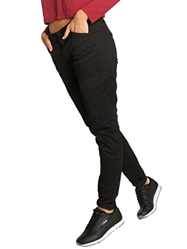 G-STAR RAW Rovic Mid Skinny Wmn, Pantalones para Mujer Negro