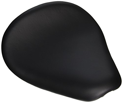 Biltwell TS-VIN-00-BS Thinline Seat (With Hand-Stitched Smooth Cover, for Custom Applications) ()