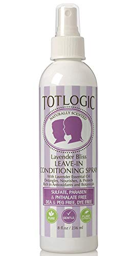 TotLogic Kids Detangler Spray and Leave In Conditioner -...