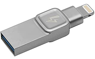 Kingston Bolt USB 3.0 Flash Drive Memory Stick for Apple iPhone & iPads with iOS 9.0+, External Expandable Memory Storage, DataTraveler Bolt Duo, Take More Photos & Videos, 64GB - Silver (B072WPBV7Z) | Amazon Products